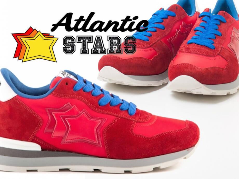アトランティックスターズ メンズ スニーカー Atlantic STARS レッド アンタレス  ANTARES RRA 63B  靴