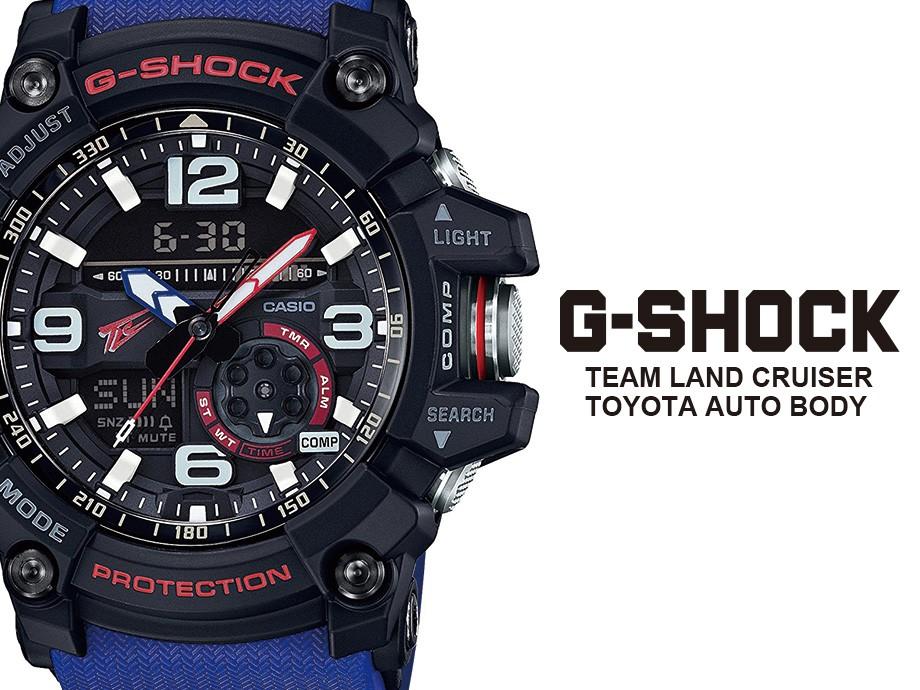 カシオ CASIO G-SHOCK 腕時計 マッドマスター GG-1000TLC-1AJR コラボ MUDMASTER TEAM LAND CRUISER TOYOTA AUTO BODY ジーショック Gショック G-ショック ブラック メンズ レディース [4/12 再入荷]