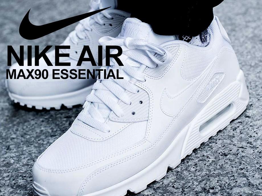 ナイキ NIKE エアマックス90 エッセンシャル メンズ スニーカー AIR MAX 90 ESSENTIAL 537384-111 靴 ホワイト [予約商品 6/15頃入荷予定 再入荷]