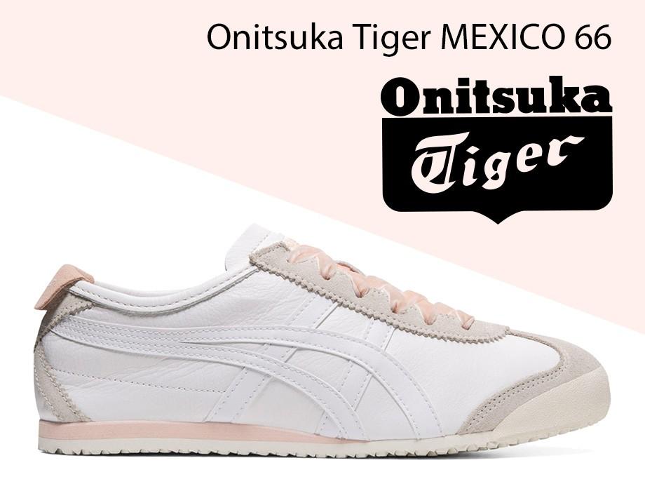 オニツカタイガー Onitsuka Tiger メキシコ 66 スニーカー メンズ レディース MEXICO 66 ホワイト 白 1182A104-100