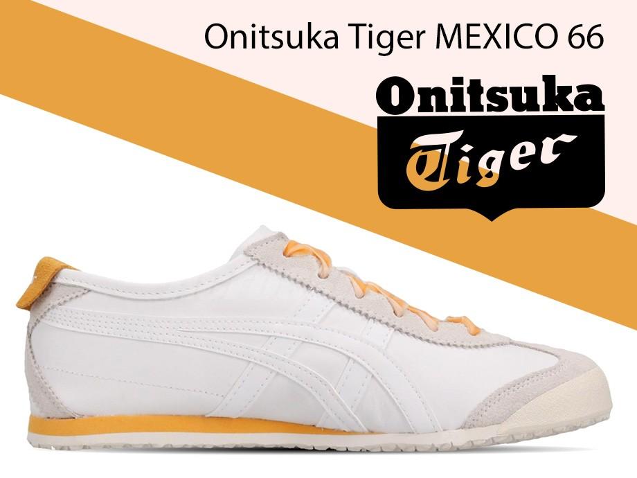 オニツカタイガー Onitsuka Tiger メキシコ 66 スニーカー メンズ レディース MEXICO 66 ホワイト 白 1182A104-101