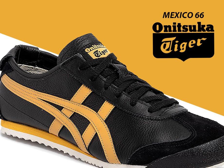 オニツカタイガー Onitsuka Tiger メキシコ 66 スニーカー メンズ レディース MEXICO 66 ブラック 黒 1183A201-001