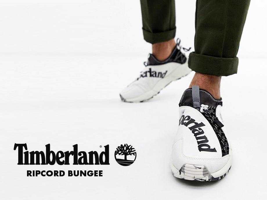 ティンバーランド Timberland スニーカー スリッポン リップコード バンジー メンズ RIPCORD BUNGEE A1USX
