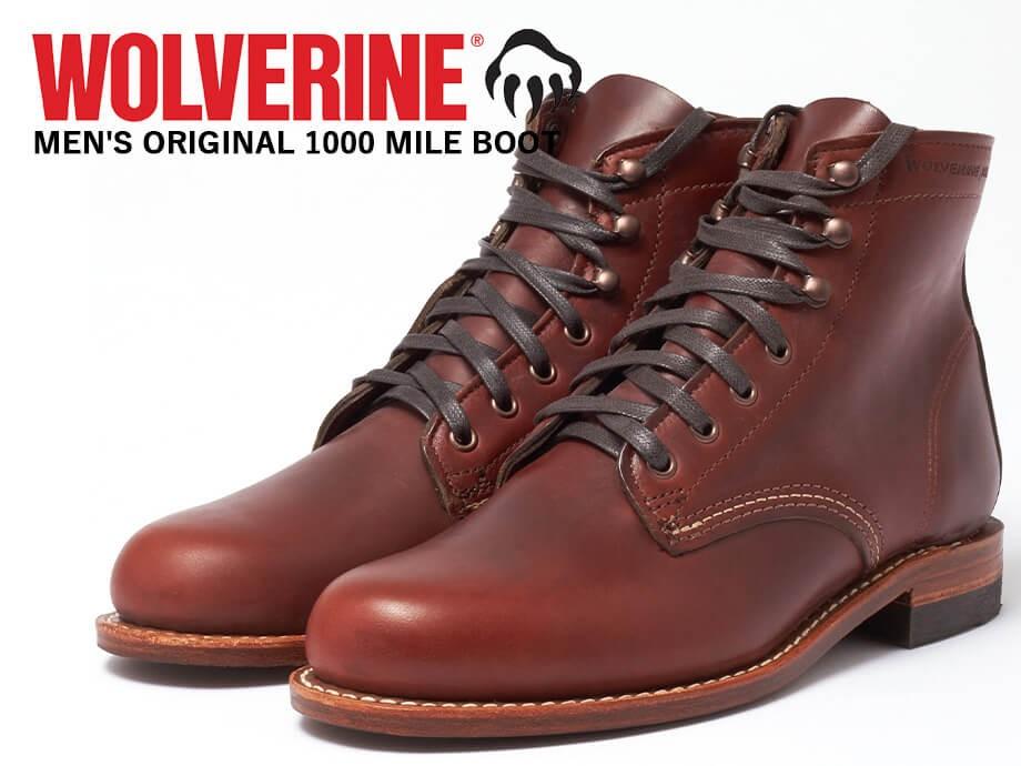 ウルヴァリン 1000マイル ブーツ WOLVERINE ブーツ 1000 MILE BOOT Dワイズ W05299 ラスト ワークブーツ メンズ [予約商品 1/29頃入荷予定 追加入荷]