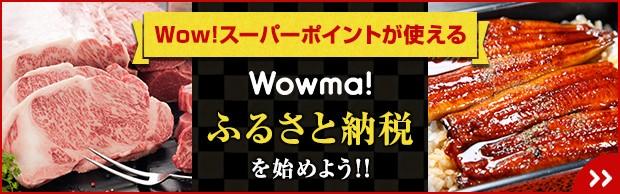 Wow!スーパーポイントが使える Wowma!ふるさと納税を始めよう!