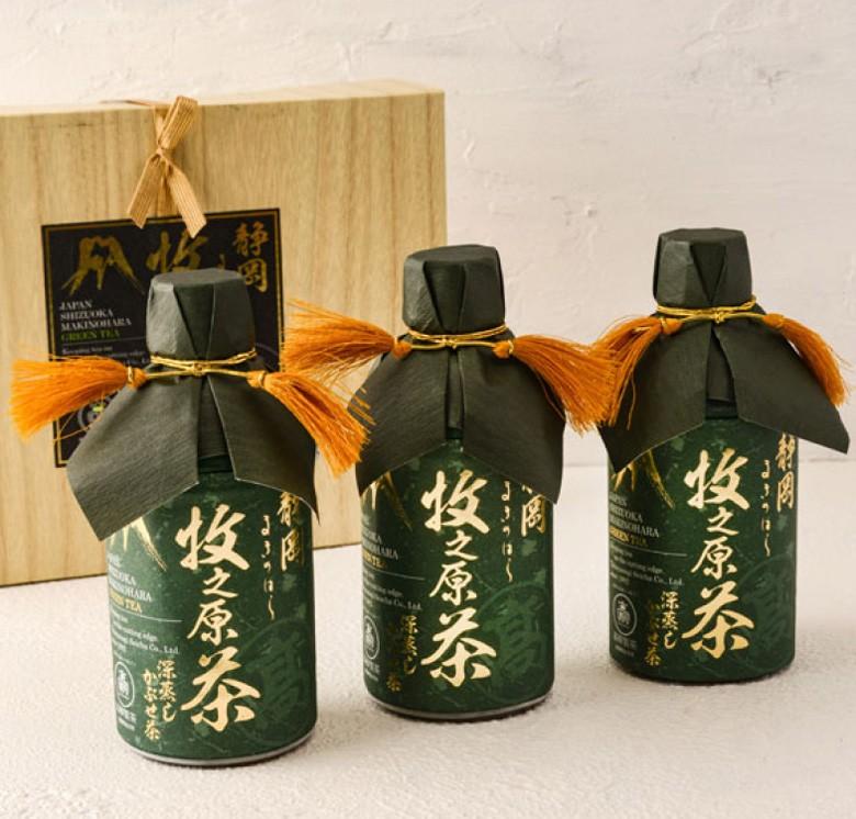 牧之原の「雫茶」プレミアムペットボトル 350ml×3本入りギフト