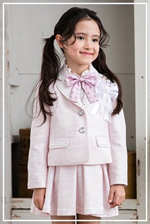 女の子入学スーツ