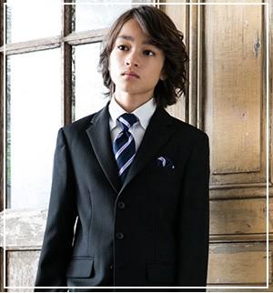 男の子卒業スーツ