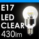 LED電球 クリア球 LED-016(430lm)