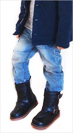 ブーツ キッズ 男の子 女の子 裏ボア付き ミドル丈 防寒