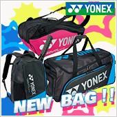 『YONEX NEW BAG!!』