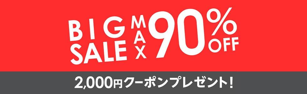 【先着順】BIG★SALE 最大2,000円OFFクーポンがベクトルで利用できます!