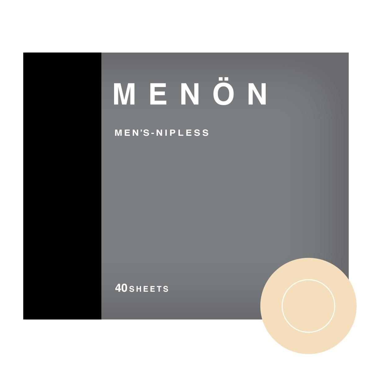 ニップレス 男性用 MENON 20セット (40枚) メンズ