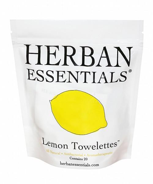 HERBAN アロマタオル レモン 20包