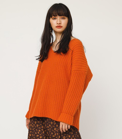 SLY LAMBS WOOL MG RIB TUNIC