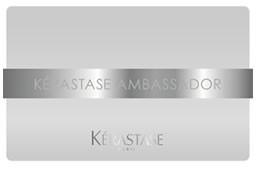 ケラスターゼアンバサダーサロン認証カード
