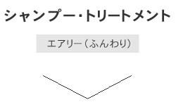 シャンプートリートメント(エアリー ふんわり)