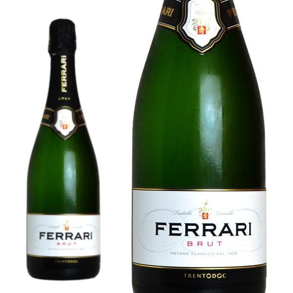 フェッラーリ ブリュット 正規 750ml (イタリア スパークリングワイン)
