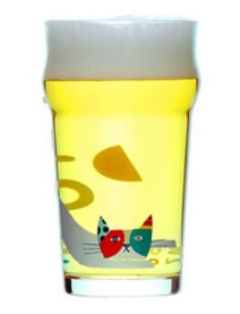 水曜日のネコ専用グラス