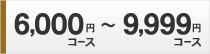 6000円コース〜9999円コース