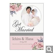 結婚内祝・引出物用オリジナル化粧箱【L-SDO】