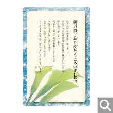御見舞御礼用メッセージカード【BK-04】