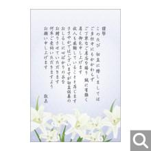 初盆御礼用メッセージカード【BK-11】