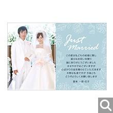 結婚内祝・引出物用メッセージカード【K-05】