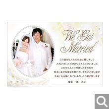 結婚内祝・引出物用メッセージカード【K-23】