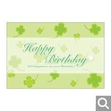 お誕生日お祝い用メッセージカード【MBF-01】