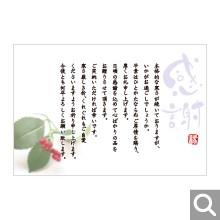 季節のイベント用メッセージカード【MIF-10】