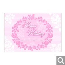 結婚お祝い用メッセージカード【MKX-24】