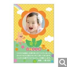 出産内祝用メッセージカード【S-21】