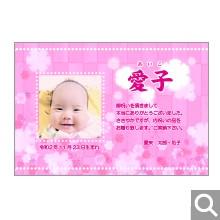 出産内祝用メッセージカード【S-28】