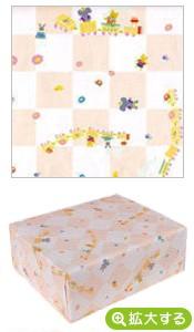 包装紙【A ピンクアニマルキッズ】