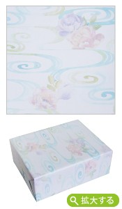 包装紙【T-5 しゃくやく水紋】