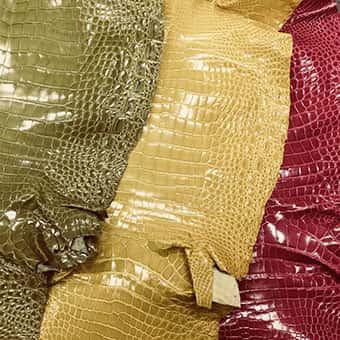 高級皮革の種類について