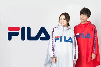 FILAのレインウェア/傘