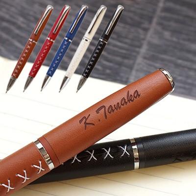 編み上げボールペン