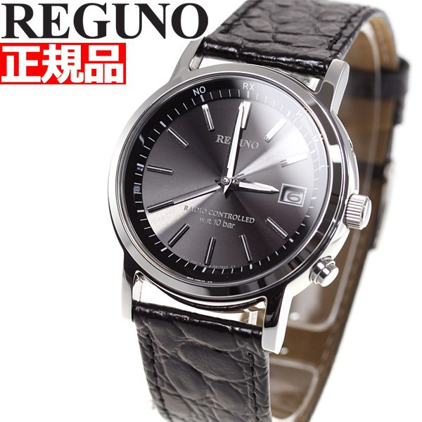 シチズン レグノ CITIZEN REGUNO ソーラー 電波時計 腕時計 メンズ クラシック ストラップ KL7-019-50