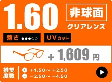 1.60非球面レンズ