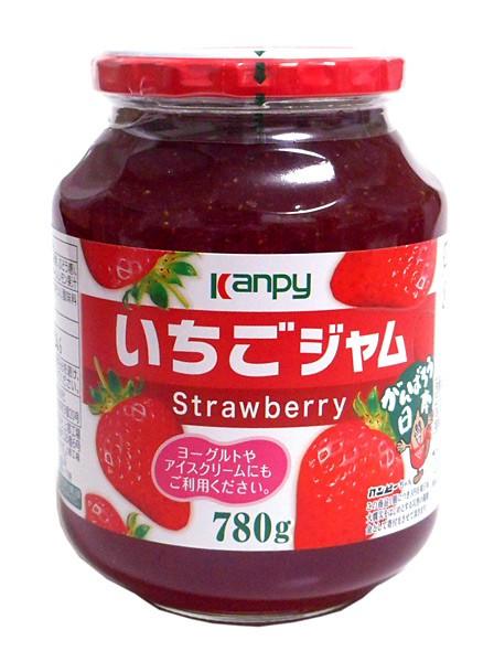 加藤産業 カンピー いちごジャム ×3個【イージャパンモール】