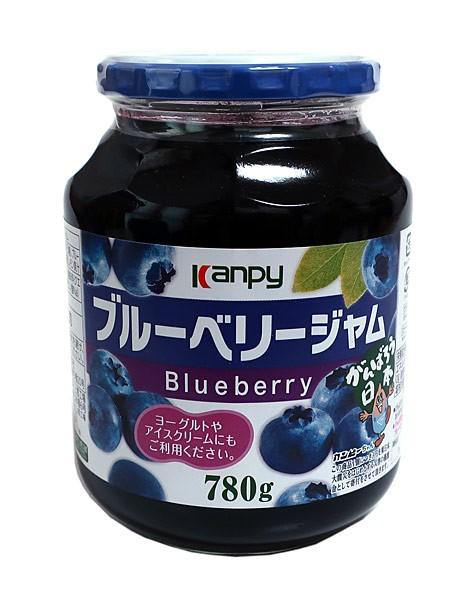 加藤産業 カンピー ブルーベリージャム ×3個【イージャパンモール】