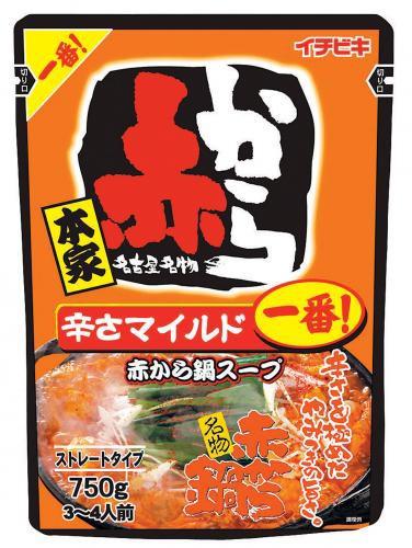 イチビキ 赤から鍋スープ 1番 ×5個【イージャパンモール】