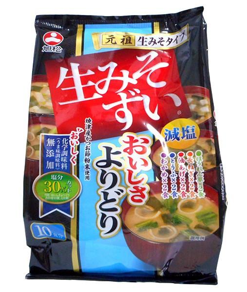 旭松食品 生みそずい無添加よりどり減塩 10食 146.4g(10食) ×10個【イージャパンモール】