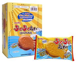 ★まとめ買い★ 名糖 ぷくぷくたい 1個 ×10個【イージャパンモール】