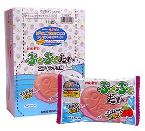 ★まとめ買い★ 名糖 ぷくぷくたい 苺 1個 ×10個【イージャパンモール】