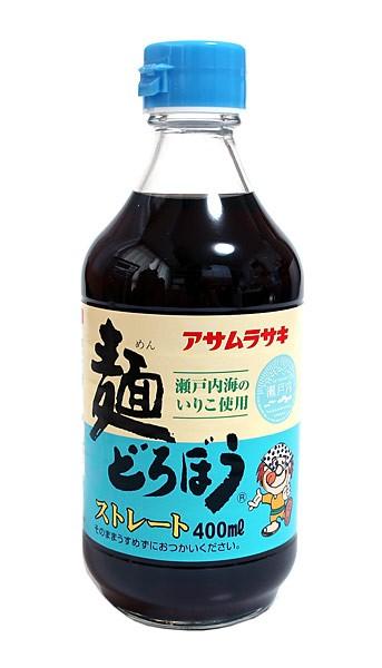 ★まとめ買い★ アサムラサキ 麺どろぼうストレート 400ml ×12個【イージャパンモール】