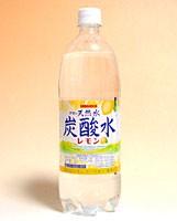 ★まとめ買い★ サンガリア 天然水炭酸水レモン 1Lペット ×12個【イージャパンモール】