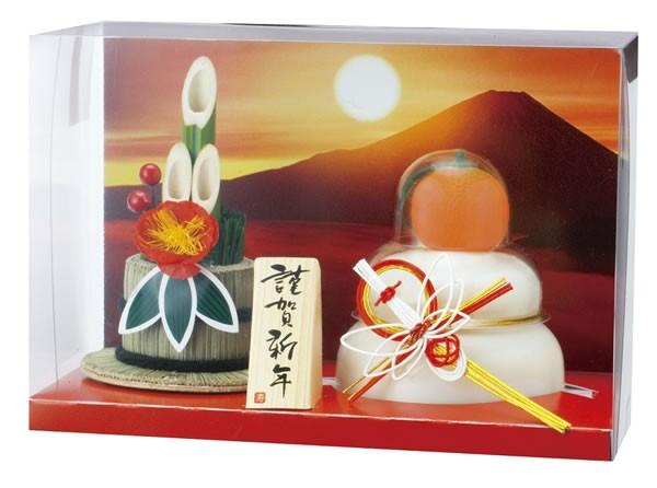 【鏡餅】タイマツ [G-48]お鏡餅門松飾り160g ×12個